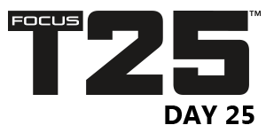 FOCUS T25 – ALPHA CYCLE – Day 25 – TOTAL BODY CIRCUIT